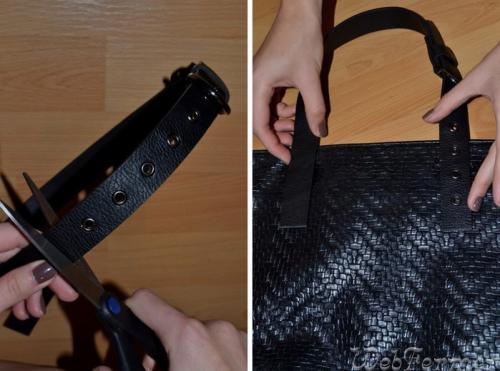 Отремонтировать ручки сумки в домашних условиях 583